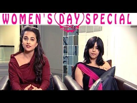 Women's Day Special | Vidya Balan & Ekta Kapoor EXCLUSIVE INTERVIEW