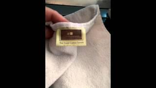 4 piece set white velour fingertip towel Creative Scents