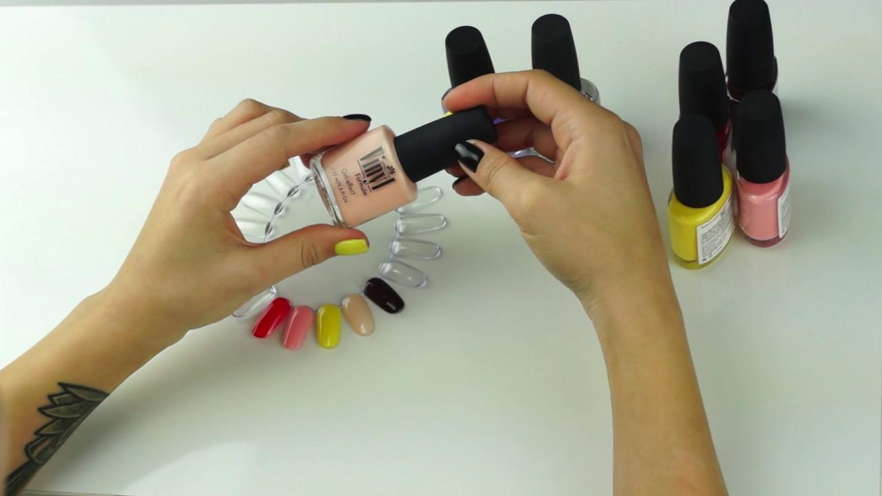 Лаки для ногтей виниловые