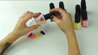 Обзор лаков для ногтей с эффектом гель-лака Severina Vinyl (Северина Винил) 15мл
