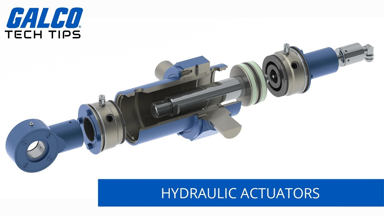 How do Hydraulic Actuators work? - A Galco TV Tech Tip
