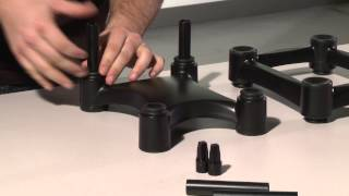 How To Assemble Your IsoAcoustics Adjustable Stands for Speakers and Studio Monitors
