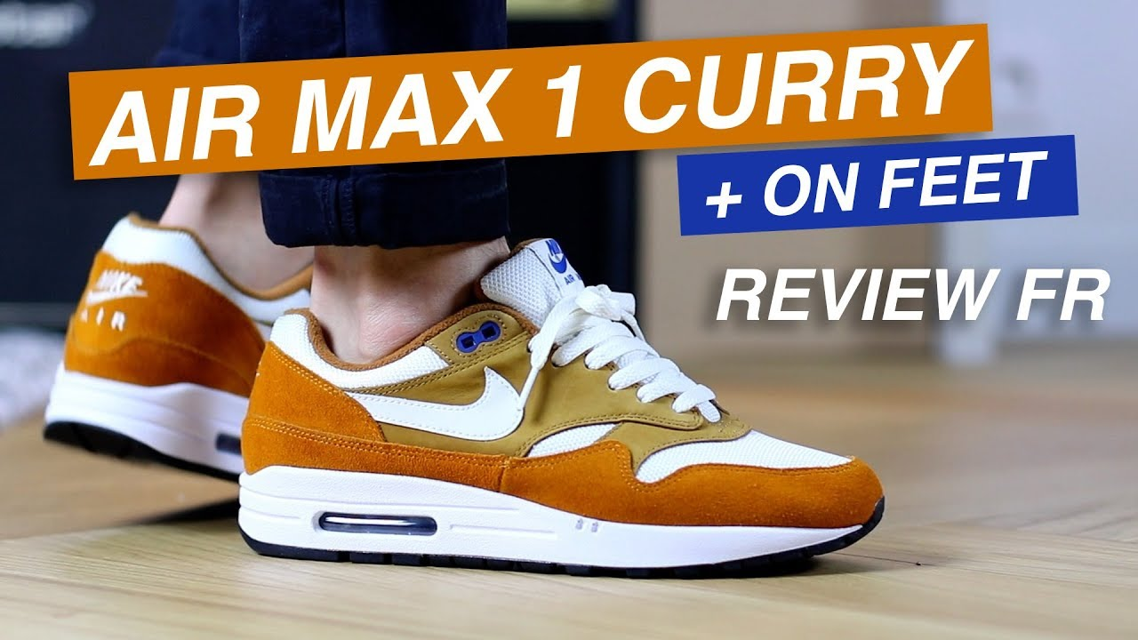 low cost df07e 0157c Air Max 1 Curry Atmos ou Louis Vuitton   😲 Review + ON FEET (FR)