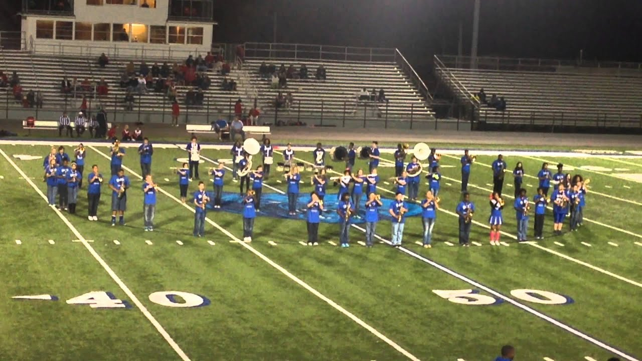 Sylvan Hills Middle School band performance of