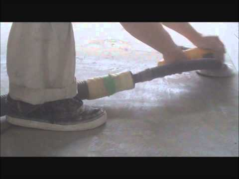 Leveling Uneven Concrete Floor with a Dewalt Grinder How to Do It Yorself Mryoucandoityourself