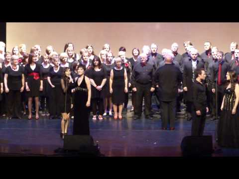 """FINALE OF """"WITH A SONG IN MY HEART"""" AT ST DAVID'S HALL CARDIFF with City Voices Cardiff"""
