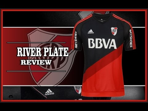 River Plate 2016 Camiseta Visitante Adidas Negra