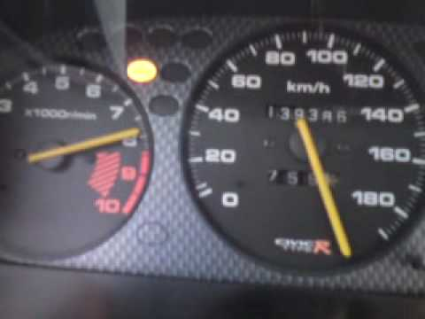 civic b16a top speed