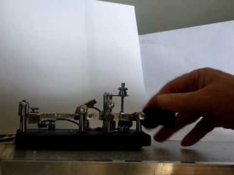 Bug Vibroplex  semi-automatic telegraphy key by i8sou