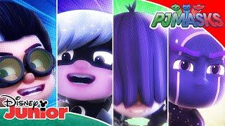 🦹♀️ Top 5: Bad Guys! | PJ Masks | Disney Junior UK