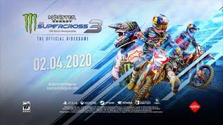 Monster Energy Supercross 3: The Official Video Game - Extended Trailer