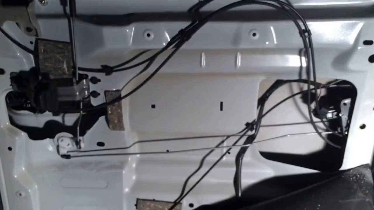 2005 Dodge Grand Caravan Sliding Door Lock Actuator  YouTube