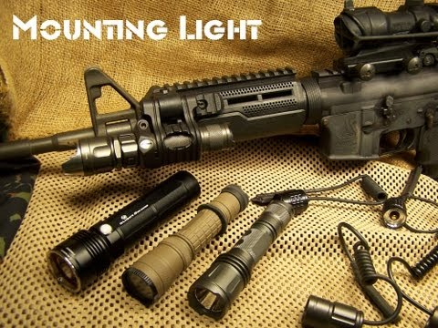 Light Mounting Options: AR15 / M4