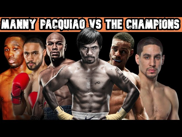 Manny PACQUIAO Versus Danny Garcia,  Floyd MAYWEATHER, Errol Spence or Keith Thurman!!!