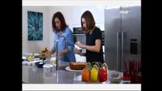 Mbc Morning Show Raspberry & Almond Cake - صباح الخير يا عرب كيك التوت واللوز