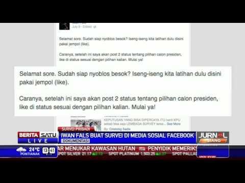Iwan Fals Gelar Survei Pilpres Di Facebook