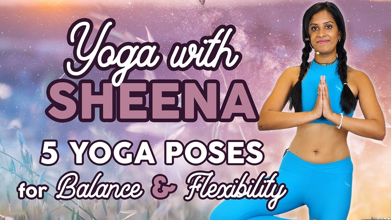 Top 5 Beginners Yoga Poses for Weight Loss & Flexibility-- Feel Amazing All Day! How to, At Home