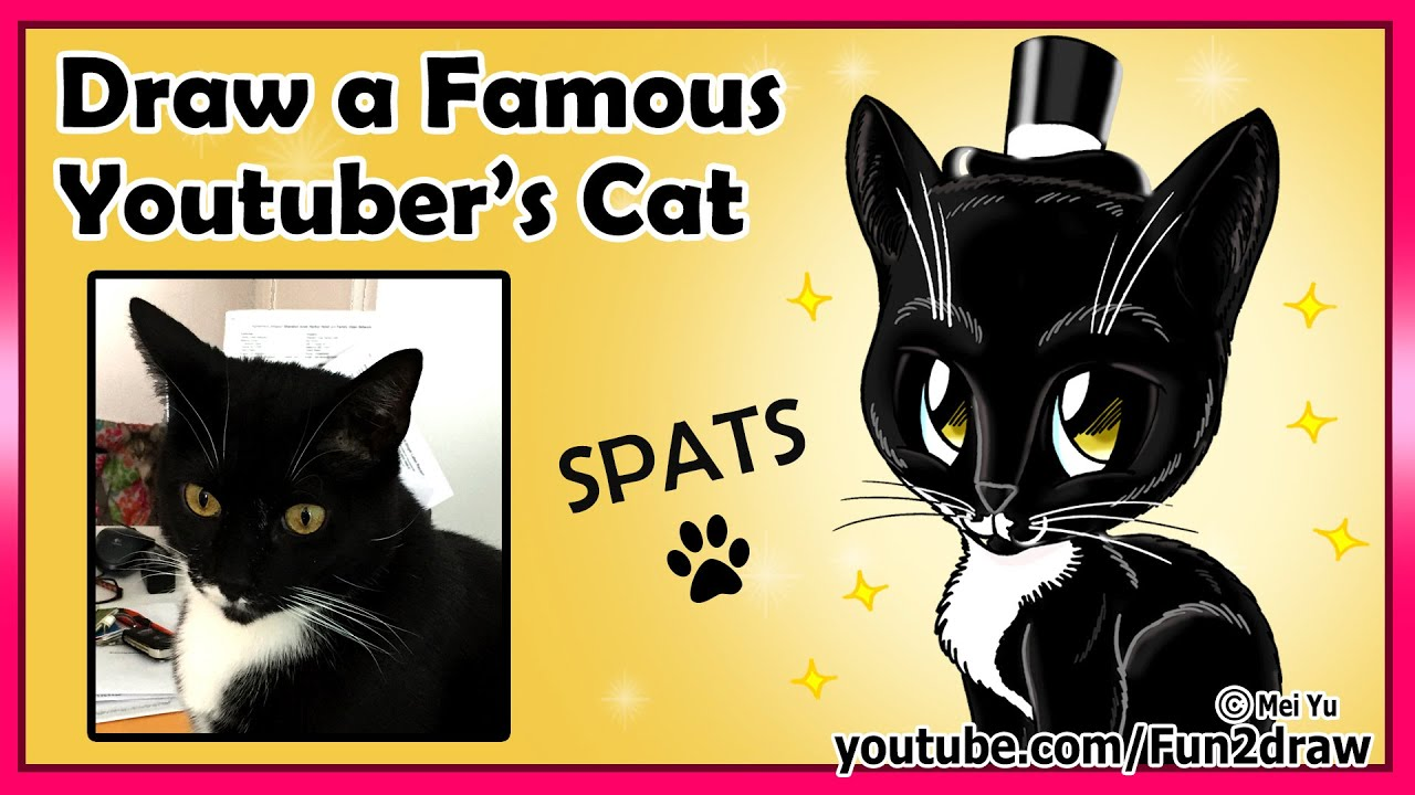 Fun2draw Famous Youtuber's Cat - Mommy and Gracie Show ...