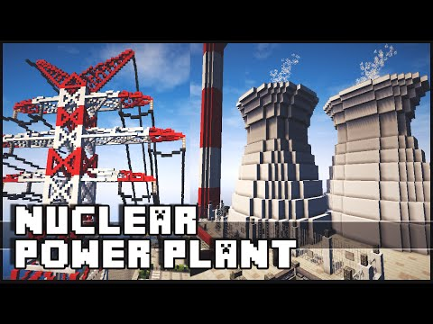 Minecraft - Nuclear Power Plant & Epic Wind Turbines!