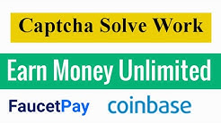Captcha Solve Earning Website without Investment || Unlimited Earning Faucet Worldwide