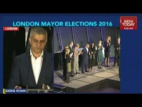 In Historic First, Muslim Candidate Khan Wins London Mayoral Election