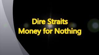 Dire Straits-Money for Nothing (with lyrics)