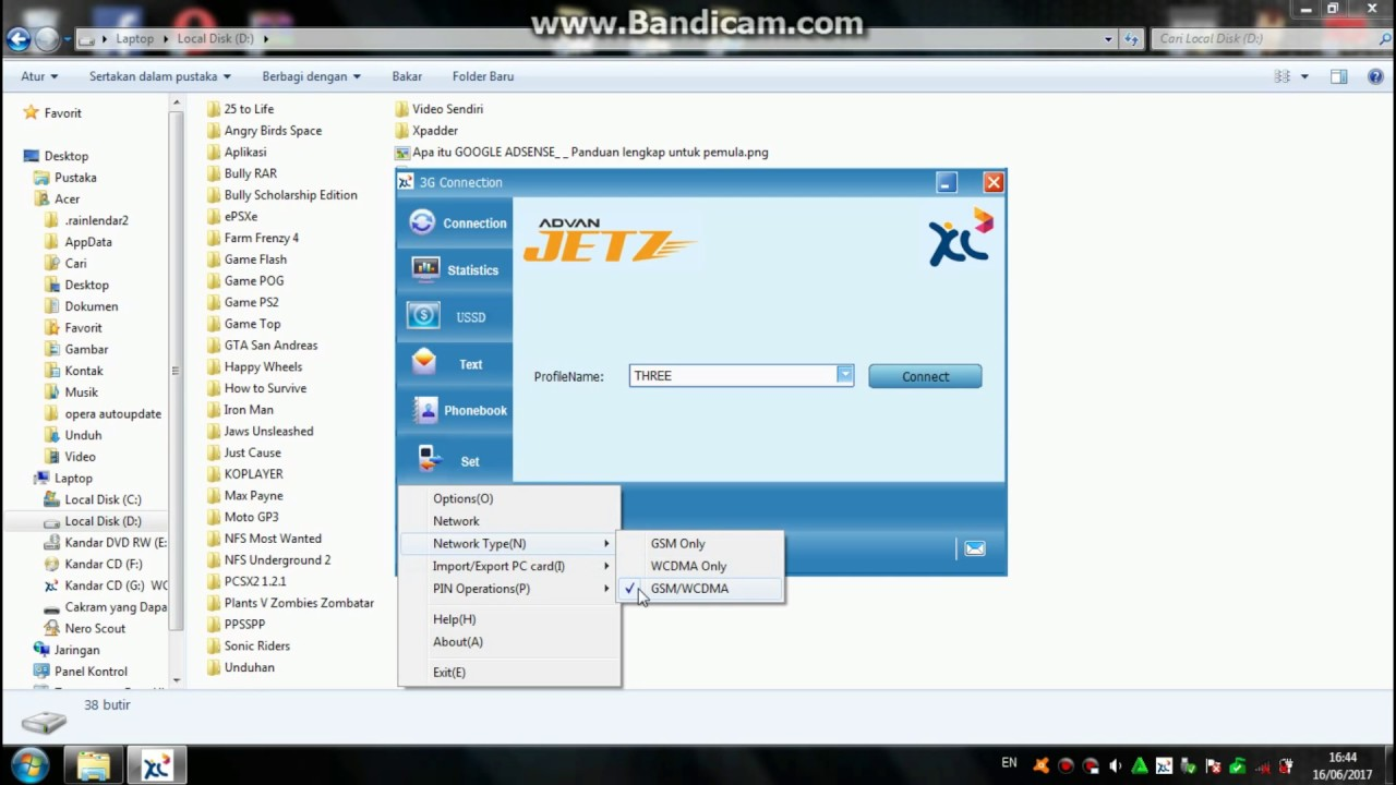 Cara Membuat Modem Advan Jetz Hanya Mengambil Jaringan 3g Saja Youtube Advance Dt10 All Operator  Bagus