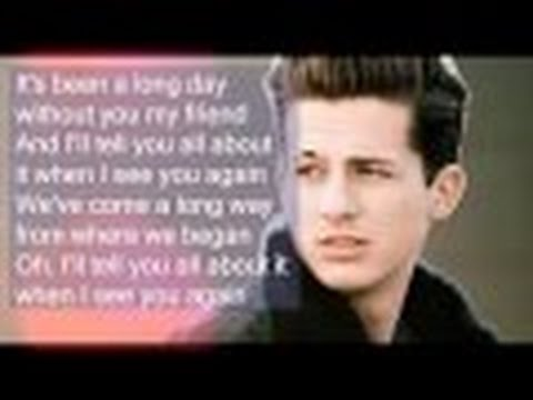 [No RAP version] See You Again - Charlie Puth with Lyrics