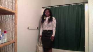 OOTN: Lace, Leather, and Pumps...Oh My!!! Thumbnail