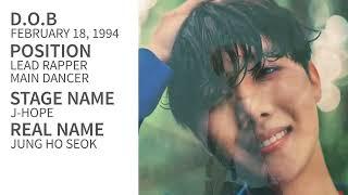 Video BTS Members Profile download MP3, 3GP, MP4, WEBM, AVI, FLV April 2018