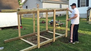 A video of highlights of a family project of building a playset for two of the the grandkids. If you liked this video, click here to donate ...