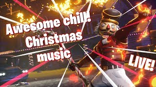 AWESOME CHILL CHRISTMAS MUSIC!!! LIVE!!