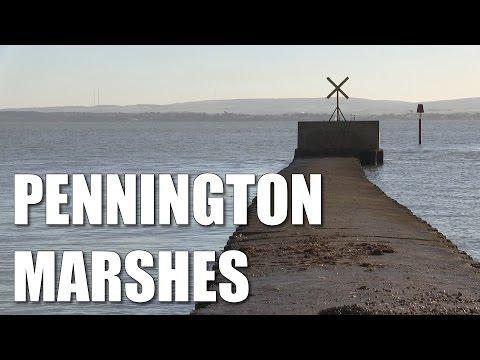 Pennington Marshes - Solent Shore Fishing Mark, Hampshire, UK