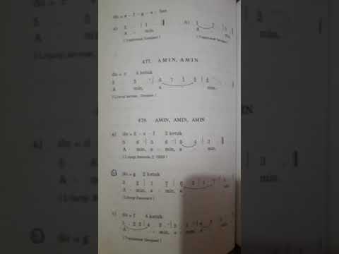 KJ 478c. AMIN, AMIN, AMIN - COVER DEWI.S (SL)
