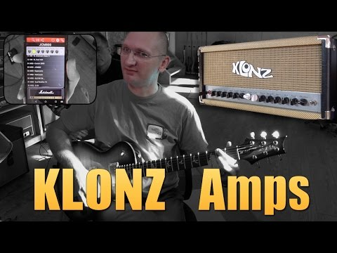 KLONZ Amps - a brand new concept - First Impressions !!!