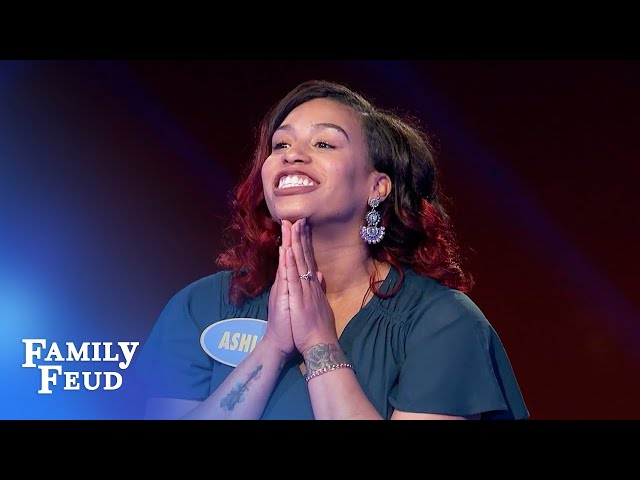 Dre and Ashley kill it in Fast Money! | Family Feud