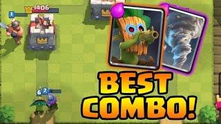 Dart Goblin + Tornado = CRAZY! • Best Dart Goblin Deck/Strategy • How to Use Dart Goblin