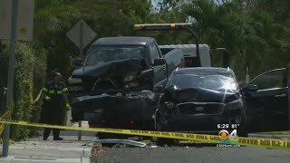 Police Investigating Fatal Shooting Involving Crashed Vehicles