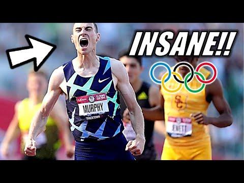 Download Donavan Brazier VS. Clayton Murphy || Men's 800 Meter Finals - 2021 Olympic Trials - Crazy Finish
