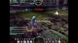 Dragon Nest SEA Soul Eater lvl 50 vs WindWalker lvl 56