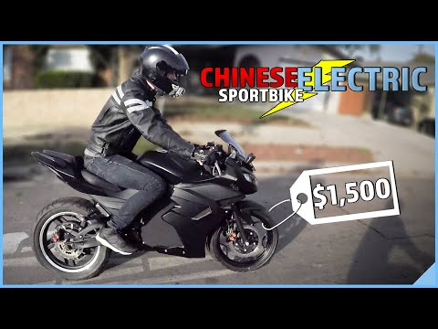 CHINESE ELECTRIC SPORTBIKE | What is the RANGE on ONE CHARGE?