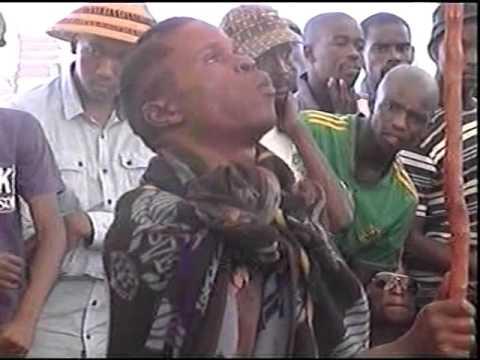 2011 Cape Town Basotho Initiates - 3 January 2012