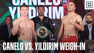 Canelo vs. Yildirim: Full Weigh-In Event