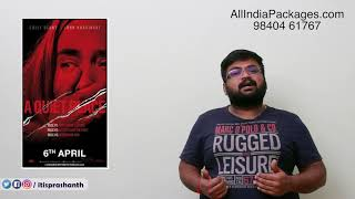 A Quiet Place review by prashanth