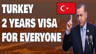 Get Turkey 2 Year Residency Permit Visa Easily