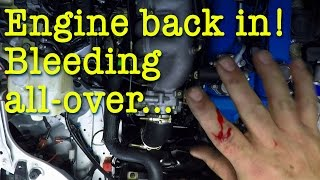 homepage tile video photo for The engine is back in the Boosted Miata