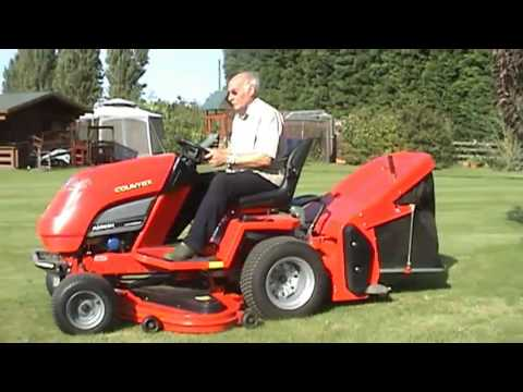 Countax A2050H ride on Lawn Mower for sale - YouTube