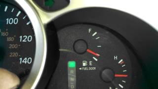 Maint Reqd light reset 2007 Toyota Highlander Maintenance required light