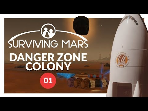 Surviving Mars - PREPARING FOR COLONISTS - Lets Play 01 (PC