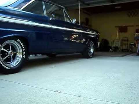 Magnum 500 Wheels >> Startup1965 Ford Falcon,289 - YouTube